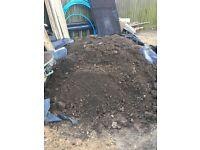 Free top soil please take it away approx 4 tonnes