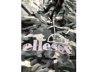 Ellesse Women's Cropped Hoodie Size 8
