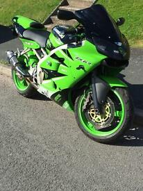 Kawasaki ninja zx6r 2000 will remove when sold