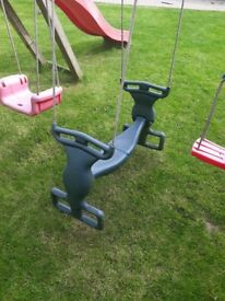 Jungle Gym 'Back to Back' Duo Seat swing