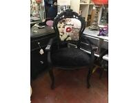Statement French Louis carver chair