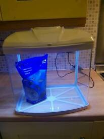 Aqua one fish tank- full set up