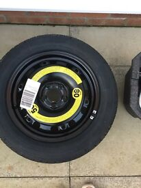 Full size spare wheel for VW Audi Group Cars