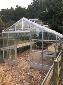 Free Large glass greenhouse