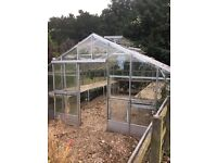 Free Large glass greenhouse