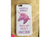 Unicorn phone case iPhone 6s