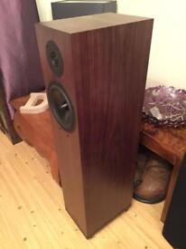 Spendor A6R Floor Standing Speakers In Walnut Finish
