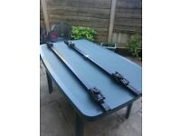 Roof Bars for cars fitted with Roof Rails