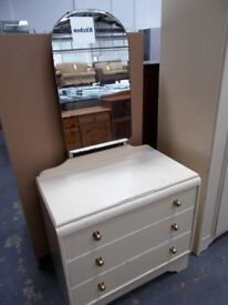Old Plywood Dressing Table…Ideal for up-cycling...WF2206