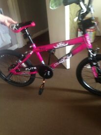 New bmx pink never been out