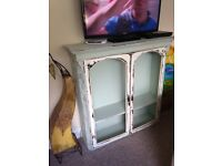 Shabby chic vintage drinks cabinet