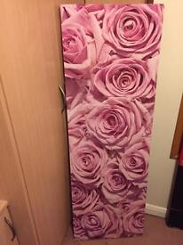 Pink Rose Large Canvas