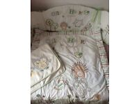Olive&friends cot bedding