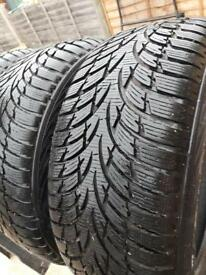3x Excellent Condition Winter Tyres Nokian WR D3 225/45 R17 91H - only used once