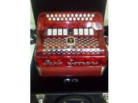 Paolo soprani elite 2 4 voice b and c case and straps mint condistion any trail