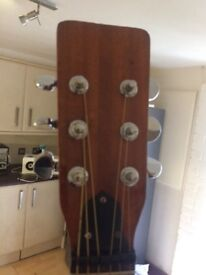 Acoustic guitar new strings new set up