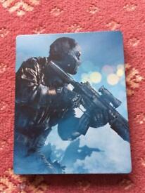 Call Of Duty ghost ps3 steel Book Case