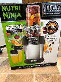 Nutri Ninja Auto IQ blender smoothie maker