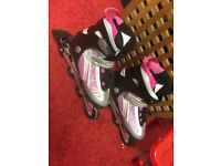 No Fear Roller blades size 7 worn once only