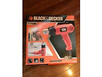 Brand New Black and decker heat gun