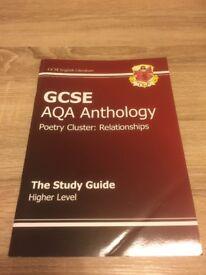 GCSE AQA Anthology book