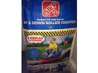 Thomas the tank up and down rollercoaster