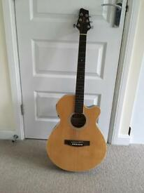 Stagg semi acoustic guitar