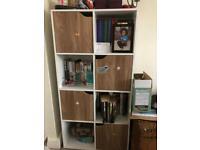 Shelf with doors