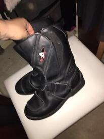 Size 8 moped/moterbike boots