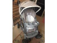 Graco pram and car set , Graco