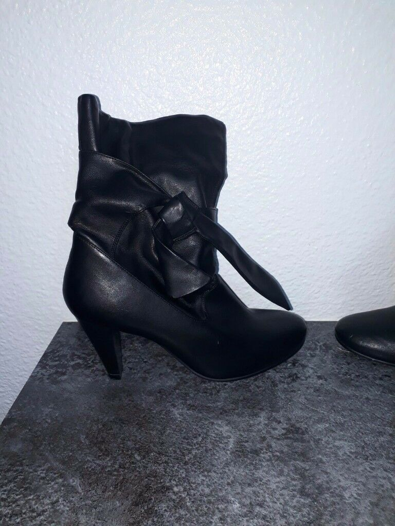 Black Dorothy Perkins Leather boots