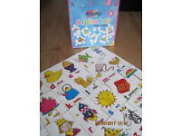 GIANT ALPHABET FLOOR PUZZLE - All pieces in the box as shown - GREAT PRICE!