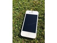 Iphone 4s, White 16gb. Factory reset and in perfect condition with original undamaged box.