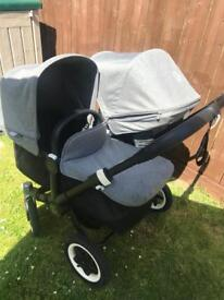 Donkey duo+carrycot