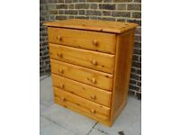 FREE DELIVERY Pine Chest Of Drawers Furniture