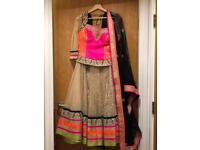 Stunning Indian lehenga choli party dress