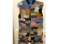 Hand Made Women's Vest, Sweater, One of a Kind