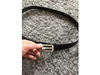 Men Hugo Boss belt XXL size