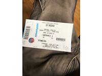Ed Sheeran Standing Ticket 12/4/17