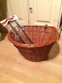 Brand New Gadsby Bicycle Basket and Bracket