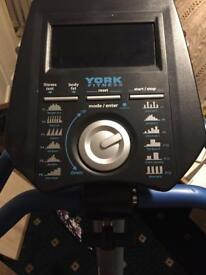 York fitness bike