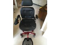 Powerchair DMR Swallow hardly used, as new.