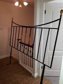 6ft Wrought iron headboard