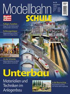 MEB Modellbahn Schule 35 - Unterbau