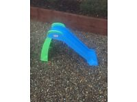 turtle sandpit and little tikes slide, good condition. Uplift only.