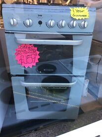 HOTPOINT 50CM ALL GAS COOKER