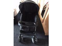 Graco Black Children's Single Capacity Folding Baby Pram/Pushchair - Great Condition/Undamaged