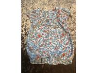 Holly Willoughby baby girl floral play suit, 6-9 Months