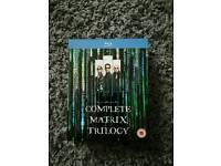 The complete Matrix trilogy blu-ray set