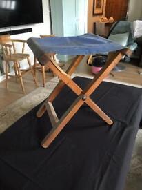 Vintage folding stool